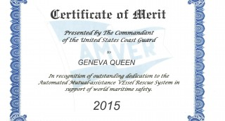Certificate of Merit Geneva Queen